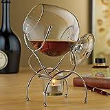 Wine Enthusiast 4-Piece Brandy Warmer Gift Set