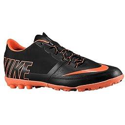 nike bomba pro II mens football trainers 580446 sneakers soccer cleats (uk 10 us 11 eu 45, black hyper crimson 088)