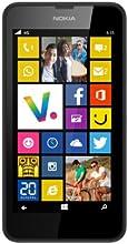 Nokia Lumia 635 Smartphone débloqué 4G (Ecran : 4.5 pouces - 8 Go - Simple Micro SIM - Windows Phone 8.1 - 512 Mo RAM) Noir