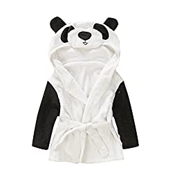 Baby Children Cotton Cartoon Animal Lovely Bath Panda Black and White 1-12 months