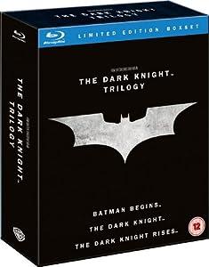 The Dark Knight Trilogy [Blu-ray] [2005] [Region Free]