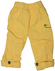 GOWRI MARKETING Boys' Regular Fit Pants (AM00078_1-2 Years, Yellow)