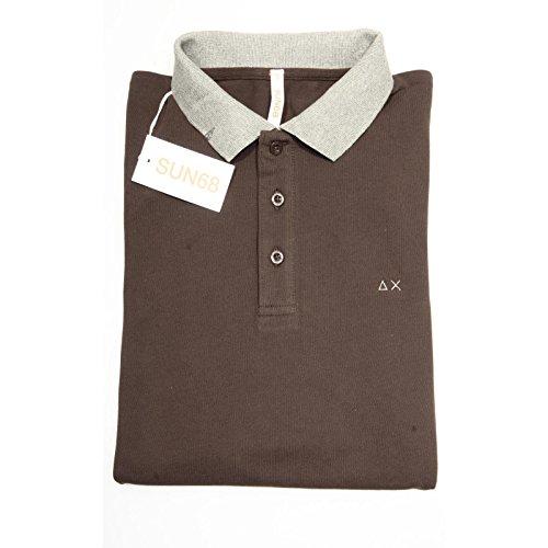 64851 polo SUN 68 BICOLOR maglia uomo t-shirt men [S]