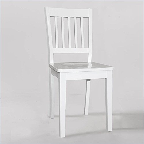 White Wood Chair front-1079854