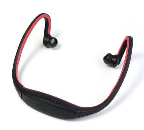 Zps Stereo Sports Bluetooth Headset Earphone Headphone For Iphone Samsung Htc (Red)