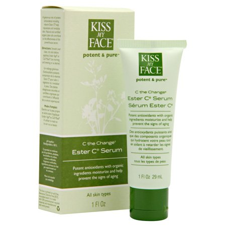 Kiss My Face Organics C The Change Ester C Serum, 1-Ounce Tubes (Pack of 3)