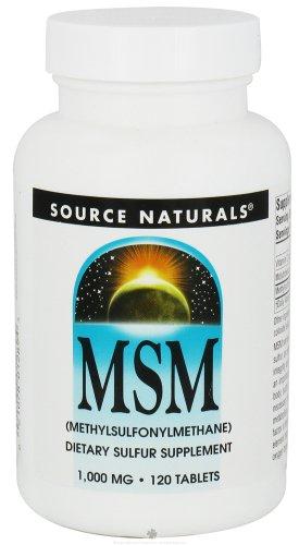 Source Naturals - Msm Methylsulfonyl, 120 Tablets