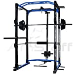 AmStaff TR023 Power / Squat Rack with Lat Pull Down - Best Reviews Guide