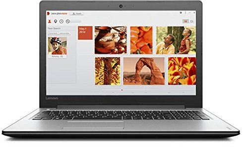 "Lenovo Ideapad 300-15ISK - Portátil de 15.6 ""(Intel Core i7-6500U, memoria RAM de 8 GB, HDD de 1 TB, Intel HD Graphics 520, Windows 10 Home), negro brillante - Teclado QWERTY Español"