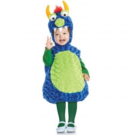 Monst (Blue Monster Costumes Toddler)