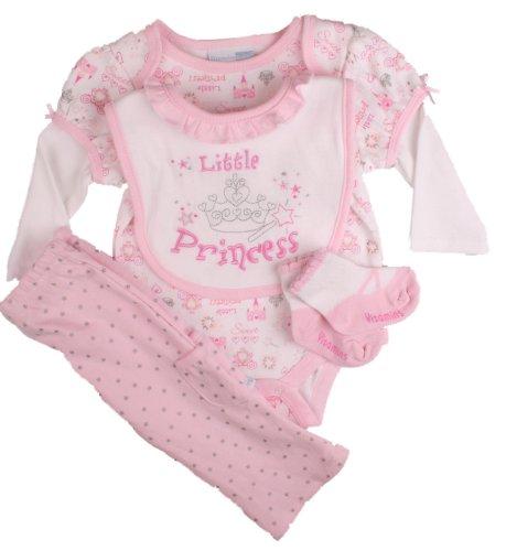 Vitamins Baby Girls Princess Pant Set-6 Months