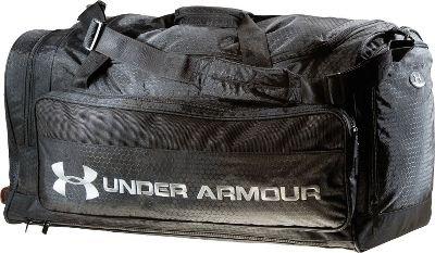9df96c7a4d5 Cheap Deals Under Armour Large Team Duffle Bag - Forest Green - Player  Baseball Bags
