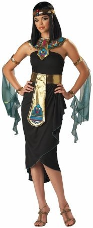In Character Costumes 181394 Cleopatra Adult Costume - Black - Large