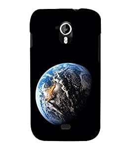 EPICCASE The World Mobile Back Case Cover For Micromax A116 Canvas HD (Designer Case)