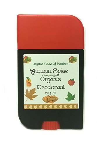 Organic Deodorant - Autumn Spice & Everything Nice Scent - 100% Certified Organic Non-Gmo Ingredients - **New & Improved!** For Women - Men - Kids - Will Not Dry Out Your Skin Or Leave A Long Lasting Oily Residue - Will Naturally Heal Your Damaged Skin - back-793370