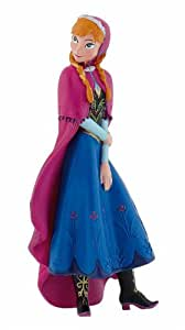 Bullyland 12960 - Spielfigur - Walt Disney Die Eiskönigin, völlig unverfroren - Anna, ca. 9,5 cm