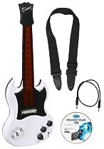Power Tour Guitar White
