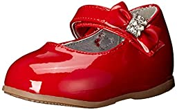 Josmo 50201 Mary Jane Infant dress shoes (Infant/Toddler),Red Patent,2