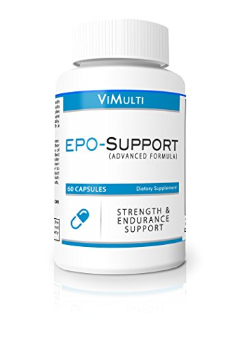 Increase Epo Supplement- Boost Epo and Increase V02MAX-Vimulti Natural EPO Pills Reduce Lactic Acid- Best Cycling Supplement & Natural EPO Booster For Runners. Stop Getting Dropped. (Cycling Endurance compare prices)