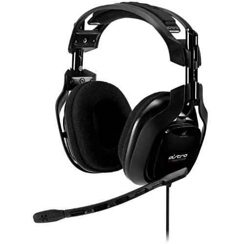 New Astro Gaming A40 Over Ear Headset With Gaming Mic - Black - Headset Only