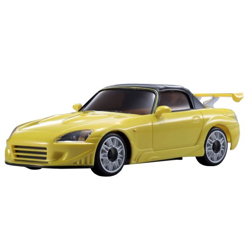 Review Kyosho ASC MR-03N-RM | RC CAR PARTS | veilside S2000 Metallic Yellow MZP45MY ( Japanese Import )