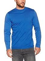 Trussardi Jeans Camiseta Manga Larga (Azul Royal)