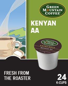 Green Mountain Kenyan Aa Extra Bold Coffee (1 Box Of 24 K-Cups)