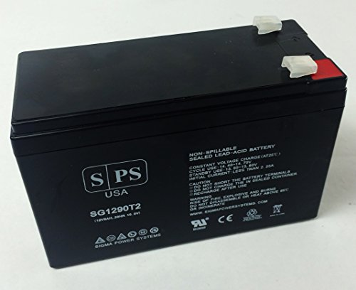Sps Brand Ge Digital Energy It Series Ups0600Itsit Ups0600Itsir 12V 9Ah Replacement Battery