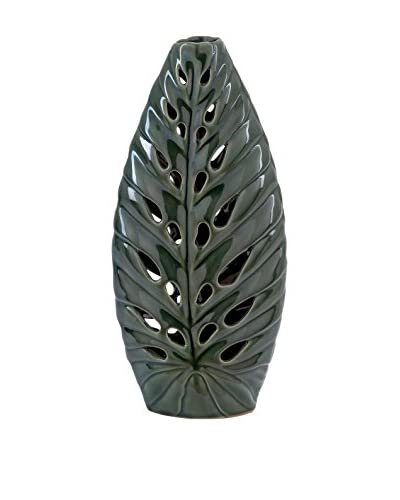 Tall Ceramic Leave Vase