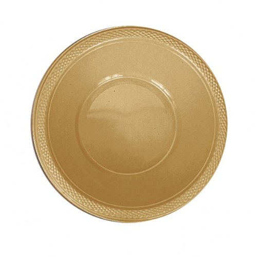Gold Sparkle 12 Oz. Heavy Duty Plastic Bowls Party Supplies Dinnerware