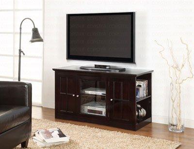 Coaster Home Furnishings 700657 Casual TV Console, Black photo