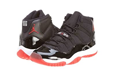 Men's nike Air Jordan 11 Retro GS Bred 378038 010 size 7
