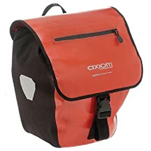 Axiom Monsoon Front/Rear Pannier Set (Red/Black)