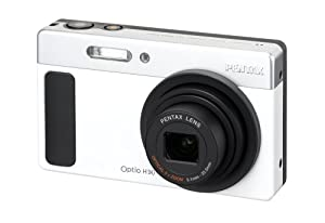 Pentax Optio H90 12.1 MP Digital Camera with 5x Wide Angle Optical Zoom and 2.7-Inch LCD (Ceramic White)
