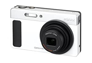 Pentax Optio H90 Digital Camera - White/Silver (12MP, 5x Optical Zoom) 2.7 inch LCD