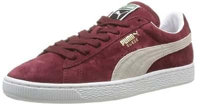 Puma Suede Classic+, Herren Sneakers, Rot (cabernet-white 75), 39 EU (6 Herren UK)