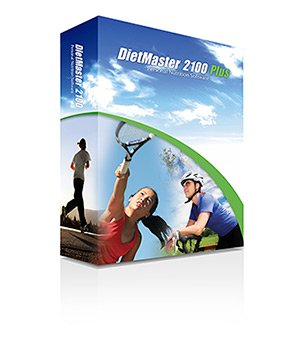 DietMaster 2100 Plus Nutrition Software - Performance Edition Diet Software, Awarded 2011 Best Diet Software - Top Ten Reviews
