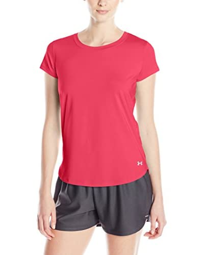 Under Armour Camiseta Técnica Running Fly By Rojo