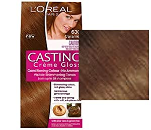 Loreal Casting Crème Gloss Caramel 630: Amazon.co.uk: Health ...