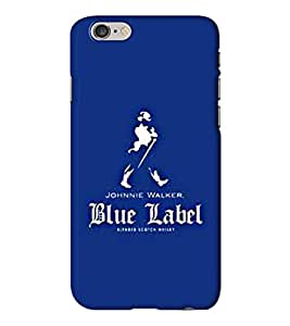 Go Yankee blue label logo Back Cover for Iphone 6 Plus