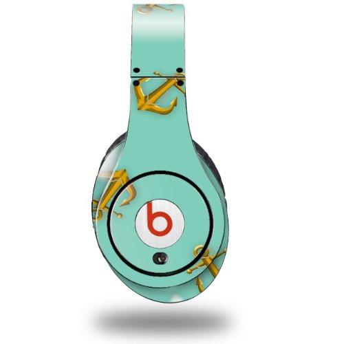 Anchors Away Seafoam Green Decal Style Skin (Fits Original Beats Studio Headphones - Headphones Not Included)