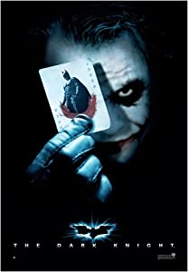 New Movie Poster (The Joker / Playing Card - Dark) (Size: 27'' x 39