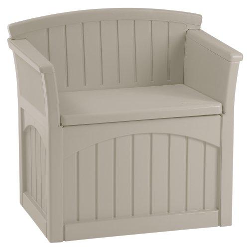 Suncast PB2600 Patio Storage Seat (Mini Storage Shed compare prices)