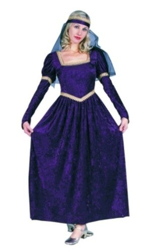 RG Costumes 86386-GR Renaissance Princess Costume - Green - Size Ladies Plus 16-18