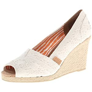 Madden Girl Women's Tackle Espadrille Sandal,Natural Fabric,8.5 M US