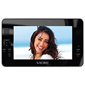 Viore PLC7V95 7-Inch Portable LCD TV with Built-in Tuner