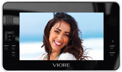 Viore PLC7V95 7-Inch Handheld LCD TV with Built-in Tuner