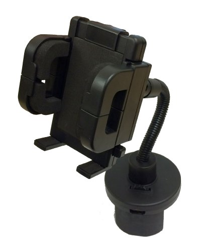 Golf Cart Cup Holder Mount For Golf Buddy Tour, Platinum, Pro, Plus, World And Leupold Golf Gps