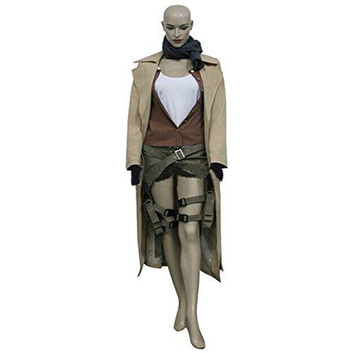 [Lorraine-store Alice Halloween Cosplay Costume (US Woman L)] (Resident Evil 5 Alice Costume)
