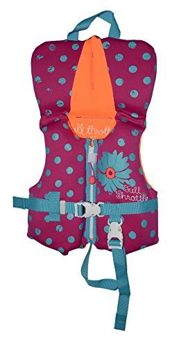 Full Throttle Infant Neoprene Life Jacket, Purple (Type Ii Infant Life Jacket compare prices)